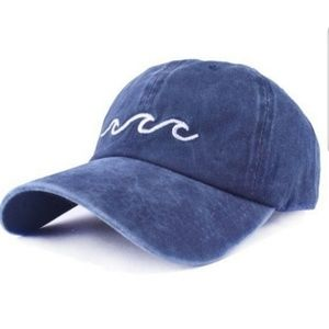 NWT Waves Embroidered Baseball Cap
